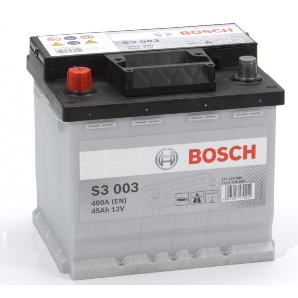 BATTERIA -BOSCH  PASSENGER CAR S3  12V 45A (EN) - 0092S30030