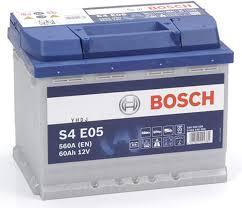 BATTERIA - BOSCH PASSENGER CAR S4E 12V 60A 680(EN)  --   AGM - 0092S4E051