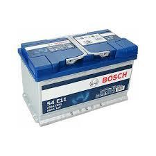 BATTERIA - BOSCH PASSENGER CAR S4E 12V 80A 730(EN)  --   AGM - 0092S4E111