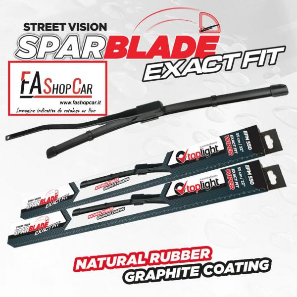 Spazzole Sparblade Exact Fit EFM550 - 550 Mm, Inch 22 - 55550