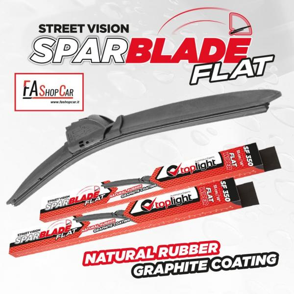 Spazzola Tergicristallo Sparblade Flat SF530 - 530Mm, Inch 21 - 38530