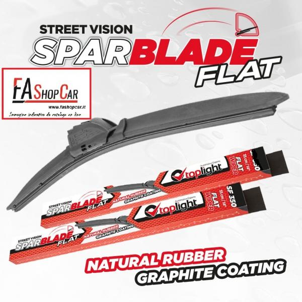 Spazzola Tergicristallo Sparblade Flat SF350 - 350Mm, Inch 14 - 38350