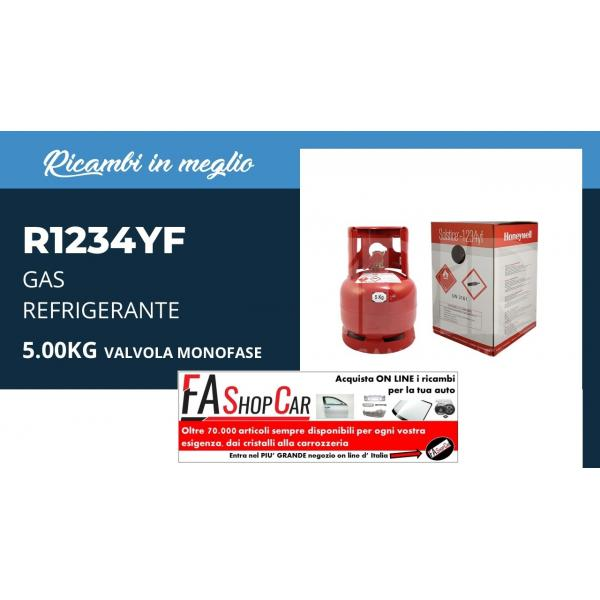 Bombola Gas Ricarica rifrigerante da 12 Kg  r1234 - r1234yf