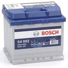 BATTERIA -BOSCH  PASSENGER CAR S4  12V 52Ah 470A(EN) - 0092S40020