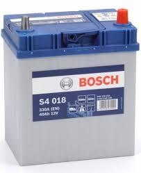 BATTERIA -BOSCH  PASSENGER CAR S4  12V 40A  330 (EN) - 0092S40180