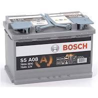 BATTERIA - BOSCH PASSENGER CAR S5A 12V 70A 760(EN)  --   AGM - 0092S5A080