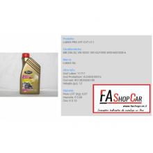 OLIO CAMBIO AUTOMATICO - LUBEX PRO ATF CVT LT.1 - VLDG05-0001L