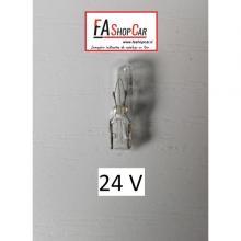 LAMPADA T5 24V/1,2W VETRO - F20508