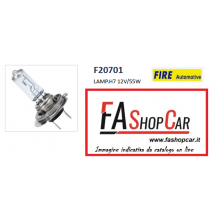 LAMPADA ALOGENA FIRE AUTOMOTIVE H7 12V/55W - F20701