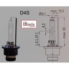 LAMPADA FIRE AUTOMOTIVE XENON D4S 35W - F20D4S-CE