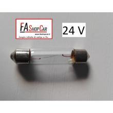 LAMPADA SILURO  LAMP.24V/10W 44X11,5 SILURO - F20281