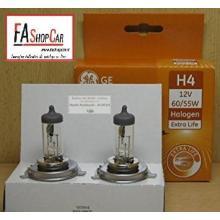 COPPIA DI LAMPADE H4 12V 60/55W EXTRA LIFE - GE 50440LU  DPU