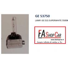 LAMP. GE (GENERAL ELECTRIC) D1S SUPERWHITE 5500K - GE 53750