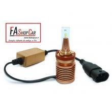 KIT H8 LED MINI 8000 LUMEN CAN BUS ANTI INTERFERENZA RADIO - F20DH8 LED MN/1