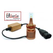 KIT LED H11 MINI 12V 8000 LUMEN CAN BUS ANTI INTERFERENZA RADIO - F20DH11 LED MN1