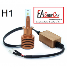 KIT LAMPADE LED H1 MINI 12V 8000 LUMEN CAN BUS ANTI INTERFERENZA RADIO - F20DH1_LED_MN/1
