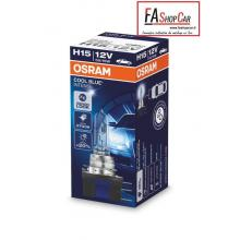 LAMPADA OSRAM AUTO H15 12V 55/15W 3700 C.BLU INT. - OS64176CBI