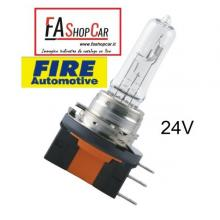 LAMPADA ALOGENA FIRE AUTOMOTIVE H15 24V 20/60W - F2064177