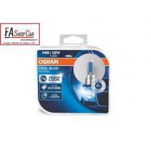COPPIA LAMPADE H8 12V 35W 4200K COOL BLU INT. - OS64212CBIDUO