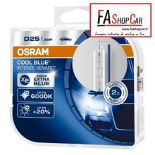 KIT 2 LAMPADE OSRAM XENON D2S 85V 35W P32D-2 6000K - OS66240CBIDUO