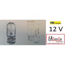 LAMPADA  T10 12V 2W T.V. - F20503