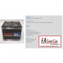 BATTERIA MOTO URSUS CBTX4L - BS - X4 BS -  12v 4AH -  (YTX4L-BS) - 13973