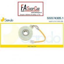 SENSORE ANGOLO STERZO  GUAINA ARANCIO 7 FILI - SSS74305.1